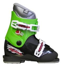 dětské lyžařské boty ALPINA J2 Black Green 0c8a63aff2